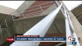 Female student reportedly fondled in stairwell on IUPUI campus - Video