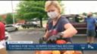 Community Food Bank of Eastern Oklahoma sees increase in food distribution amid pandemic