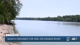 Search resumes for girl on Kansas River
