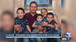 Thousands in Colorado face deportation after DHS ruling - Video