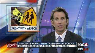 Student accused of bringing weapon to school - Video