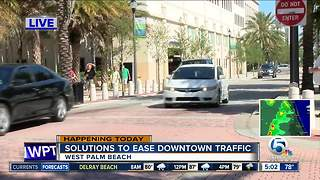 West Palm Beach meeting seeks solutions to ease downtown traffic - Video