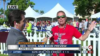 Celebrating the Red, White, and Boom in Cape Coral -- 8:30am live report - Video