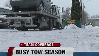 Busy season for Idaho tow truck drivers