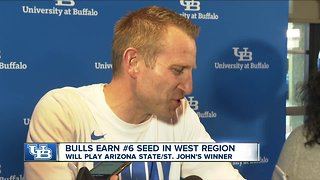UB Bulls earn 6th seed in NCAA tournament