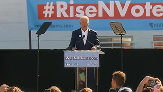Biden and Trump Criticize One Another at Opposing Rallies in Nevada