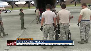 EXCLUSIVE: Action News rides along with US Air Force to St. Croix on mission to save lives - Video