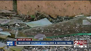 Muskogee church vandalized for second time
