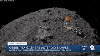 UArizona touches an asteroid to bring some of it to Earth