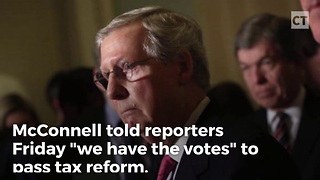 McConnell: GOP Has Votes for Tax Reform - Video