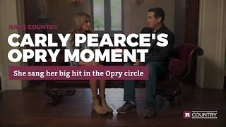 Carly Pearce's Opry moment | Rare Country - Video