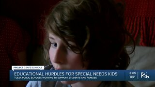 Educational hurdles for special needs students