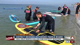 District Receives Motorized Paddle Board - Video