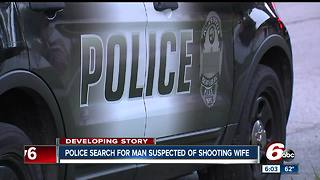 Woman shot in Brownsburg, police looking for husband - Video