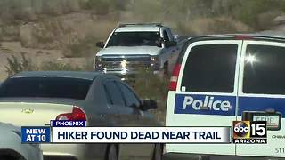 Hiker found deal near a trail in Phoenix - Video