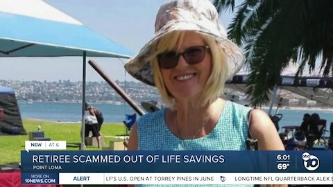 Point Loma retiree scammed out of life savings