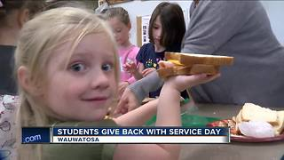 Wauwatosa students participate in service learning dayv - Video
