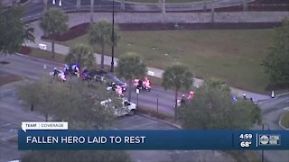 Funeral services held Tuesday for Hillsborough County deputy killed in crash