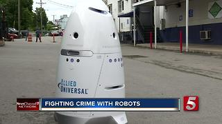 Crime-Fighting Robots Could Be Coming To City Near You - Video