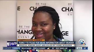 Family to make plea for tips in Makeka Jenkins' death - Video