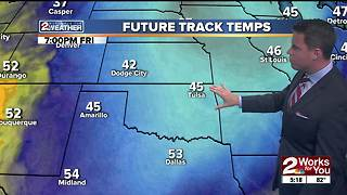 Forecast: Cold weather on the way