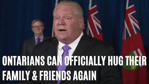 You Can Officially Hug Your Family & Friends Again In Ontario Starting Today
