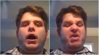 Man shows off his incredible vocal range