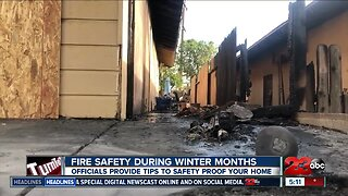Kern County Fire Officials provide safety tips during winter months