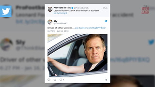 Jaguars Leonard Fournette In Car Accident, Twitter Blames Bill Belichick - Video