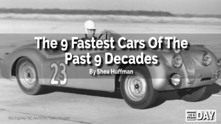The fastest cars throughout history - Video