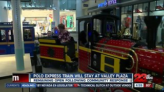 Train at Valley Plaza Mall to remain open