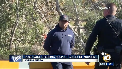 Chula Vista road rage suspect found guilty