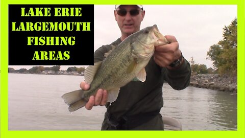 Lake Erie Largemouth Bass Fishing Areas 2020