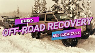 OFF-ROAD RECOVERIES AND CLOSE CALLS