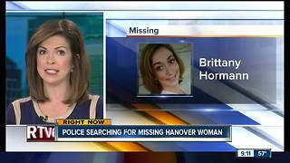 Police searching for missing Hanover woman - Video