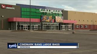 Cinemark now bans large bags - Video