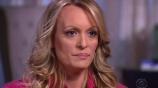 Stormy Daniels says she was threatened to keep quiet about Trump in Las Vegas parking lot - Video