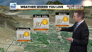 13 First Alert Weather for October 24 2017 - Video