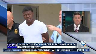 Murder suspect pleads not guilty, demands trial in killing of suburban Lake Worth mother - Video