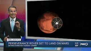 NASA rover set to land on Mars Thursday