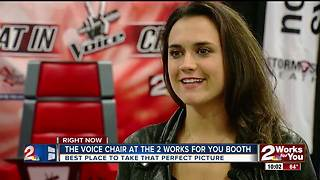Whitney Fenimore visits the 2 Works For You booth at the Tulsa State Fair - Video