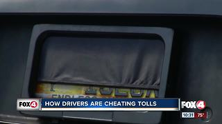 How drivers are cheating the tolls - Video