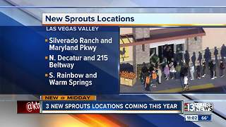 Sprouts opening 3 new Las Vegas locations