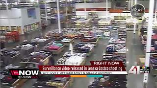 Surveillance video released in Lenexa Costco shooting - Video