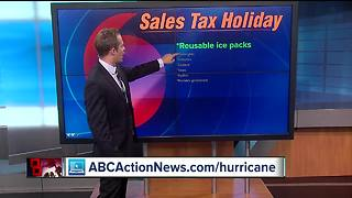 Hurricane supplies sales tax holiday begins Friday in Florida - Video