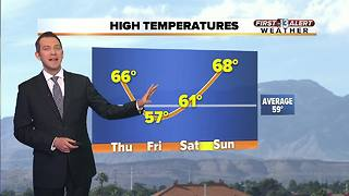 13 First Alert Weather for January 25 2018 - Video