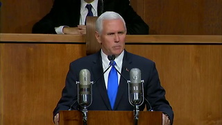 Five Takeaways From Mike Pence's Speech on Eve of 70th Anniversary of Israel's Statehood - Video