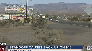 UPDATE: I-15 back open in both directions after standoff - Video