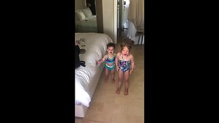 Dad Tricks Both Of His Young Daughters Into Ending Their Tantrums