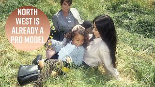 North West becomes Fendi model at 5 years old - Video